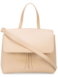 Mansur Gavriel Mini Lady Bag Nude And Neutrals