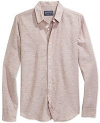 American Rag Long Sleeve Linen Shirt Only At Macy's Amphora