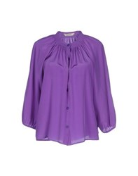 Tucker Shirts Shirts Women Purple