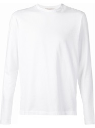 Capobianco Long Sleeved T Shirt White