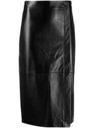Antonelli Side Slit Pencil Skirt 60