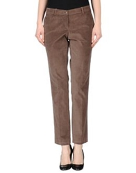 Michelle Windheuser Casual Pants Dark Brown