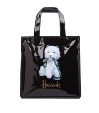 Harrods Small Westie With Lead Shopper Bag Unisex