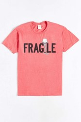 Urban Outfitters A Christmas Story Fragile Tee Red