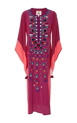 Figue Nala Embroidered Kaftan Purple
