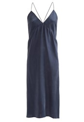 Filippa K Mae Summer Dress Night Dark Blue