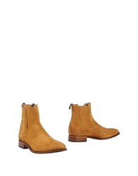 Sendra Ankle Boots Camel