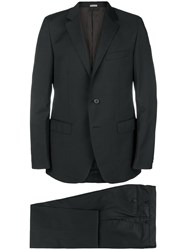 Lanvin Two Piece Formal Suit Black