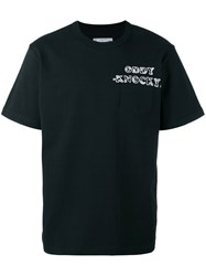 Sacai Chest Emblem T Shirt Black