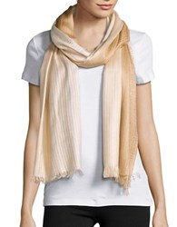 Echo Ombre Sequin Scarf Gold