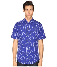Vivienne Westwood Squiggle Rattle Shirt Blue