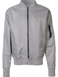 Zanerobe Bomber Jacket Grey