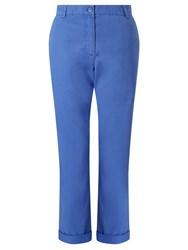 John Lewis Collection Weekend By Cotton Chinos Blue