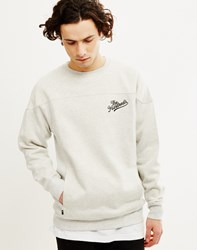 The Hundreds Tower Crew Neck Sweatshirt Grey