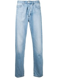 Ex Infinitas Classic Relaxed Jeans Cotton Blue