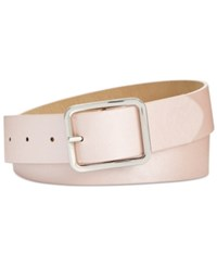 Inc International Concepts Casual Solid Belt Created For Macy's Black