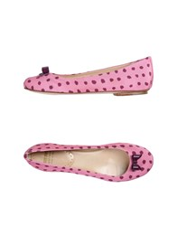 Moschino Cheap And Chic Moschino Cheapandchic Ballet Flats Pink