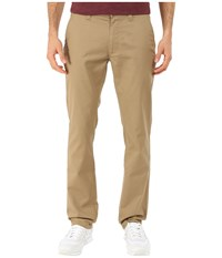 Brixton Reserved Standard Fit Chino Pants Khaki Men's Casual Pants