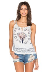 Raga Tea Party Tank White