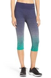 Brooks Women's 'Streaker' Capri Leggings Parque Navy