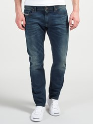 Diesel Thommer Skinny Fit Stretch Jeans Blue Green 084Bu