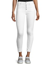 Hudson Ciara High Rise Super Skinny Ankle Jeans White