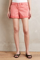 Pilcro Hyphen Chino Shorts Red
