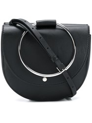 Theory Bracelet Shoulder Bag Black