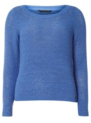 Dorothy Perkins Only Blue Geena Pullover Knitted Jumper