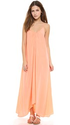 One By Pink Stitch Resort Maxi Dress Peach