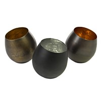 Pols Potten Iron Votives Set Of 3 Multi