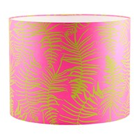 Clarissa Hulse Feather Fern Lamp Shade Neon Chartreuse