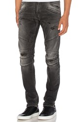Balmain Jeans Black Denim