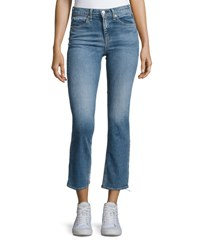 Rag And Bone 10 Inch Stove Pipe Jeans Belle Blue