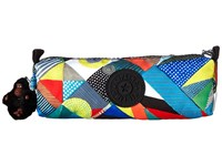 Kipling Fabian Cosmetic Bag Pen Case Abstract Beauty Wallet Multi
