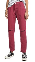 One Teaspoon Bordeaux Awesome Baggies Jeans