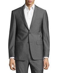 Michael Kors Slim Fit Two Button Two Piece Suit Gray