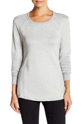 Trina Turk Pleated Pieces Pullover Gray