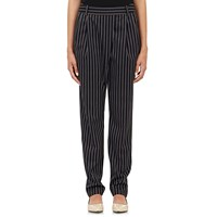 Tomorrowland Crossover Front Trousers Navy Stripe
