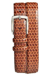 Men's Torino Belts Calfskin Belt Cognac Brown