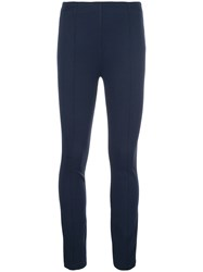 The Row Fitted Leggings Blue