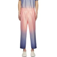 Sies Marjan Pink And Blue Alex Degrade Trousers