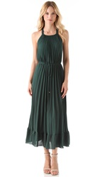 Rebecca Taylor Pleated Gown Jade
