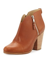 Rag And Bone Margot Side Zip Ankle Boot Tan