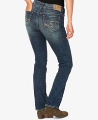 Silver Jeans Co. Dark Blue Wash Bootcut Indigo