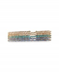 Emily And Ashley Slim Crystal Bangles Blue