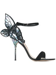 Sophia Webster Butterfly Detail Sandals Black