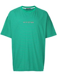 Guild Prime Striped Hipster T Shirt Green