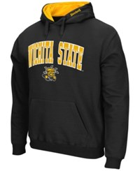 Colosseum Men's Wichita State Shockers Arch Logo Hoodie Black
