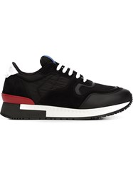 Givenchy Panelled Sneakers Black